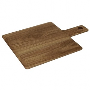 Olympia Oak Handled Wooden Board Small 15(H) x 230(W) x 230(D)mm