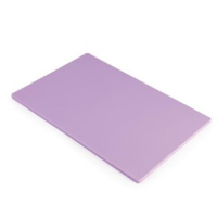 Hygiplas LDPE Chopping Board Purple 450x300x12mm