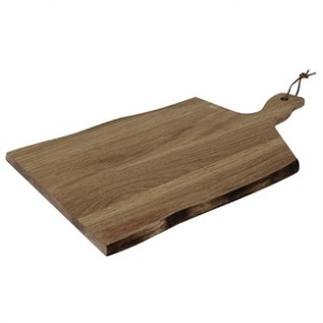 Olympia Acacia Wavy Handled wooden Board Large 15(H) x 355(W) x 250(D)mm