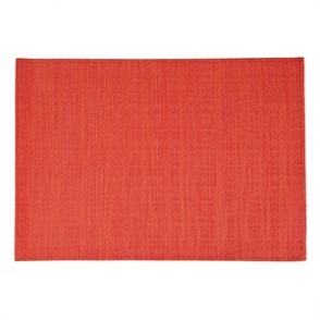 APS PVC Placemat Fine Band Red 6pp