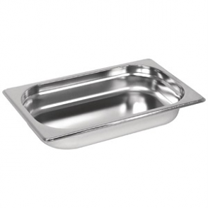 Vogue Stainless Steel GN 1/4 Pan 40mm
