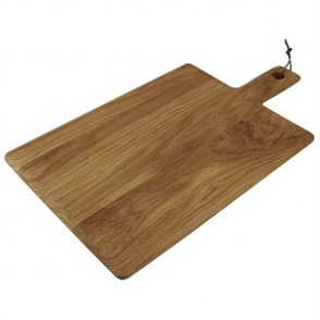 Olympia Oak Handled Wooden Board Large 15(H) x 350(W) x 260(D)mm