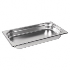 Vogue Stainless Steel GN 1/3 Pan 40mm