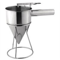 Vogue Stainless Steel Piston Funnel