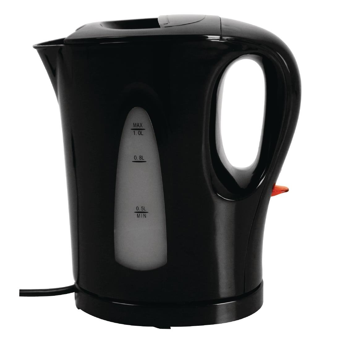 Caterlite Hotel Room Kettle - Plastic 1.0L Black