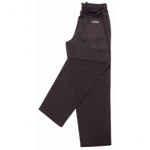 Easyfit Pants - Plain Black (Teflon Coated)
