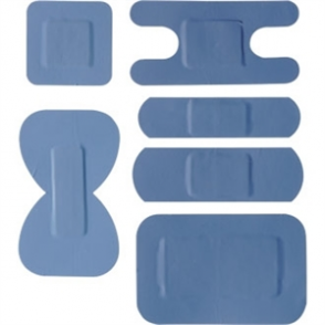 Blue Assorted Plasters (Box 100)