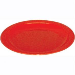 Kristallon Polycarbonate Plates Red 230mm (Box 12)