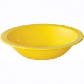 Kristallon Polycarbonate Bowls Yellow 172mm (Box 12)