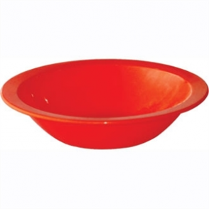 Kristallon Polycarbonate Bowls Red 172mm (Box 12)