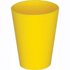 Kristallon Polycarbonate Tumblers Yellow 260ml (Box 12)