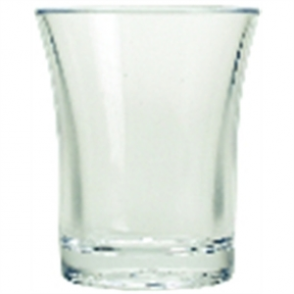 Polystyrene Shot Glass 25ml CE (100pc)