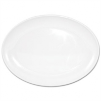 Kristallon Melamine Oval Coupe Plates 225mm (Box 12)