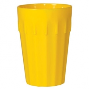 Kristallon Polycarbonate Tumblers Yellow 142ml (Box 12)