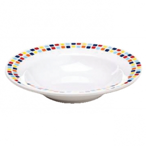 Carlisle Spanish Tile Pasta Bowls 195mm (Box 48)