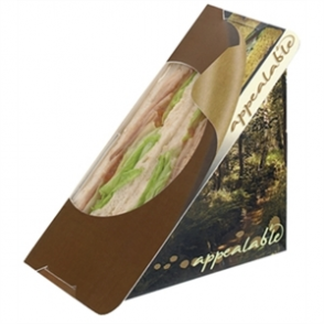 Sandwich Wedge Self Seal - Woodland (Box 500)