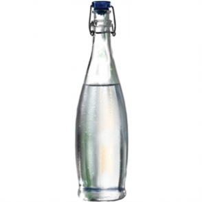 Glass Water Bottle 360ml (6pc)