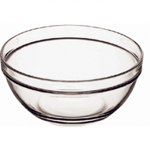Chefs Glass Bowl 75mm (6per case)
