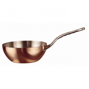 De Buyer Inocuivre Copper Conical Saute Pan 200mm