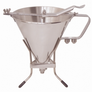 De Buyer Stainless Steel Automatic Piston Funnel 1.5ltr