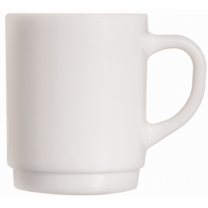 Arcoroc Opal Stackable Mugs 260ml (Box 6)