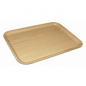 Olympia Rectangular Birch Tray 430 x 330mm.
