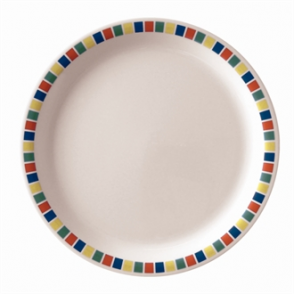 Kristallon Fairground Melamine Plates 160mm (Box 12)