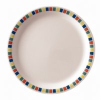 Kristallon Fairground Melamine Plates 230mm (Box 12)