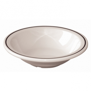 Kristallon Black Band Melamine Bowls 150mm (Box 12)