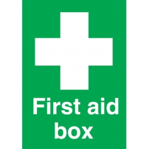 First Aid Box Symbol Sign
