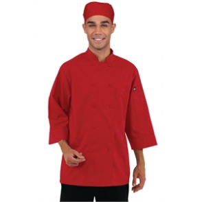 Chef Works Unisex Jacket Red