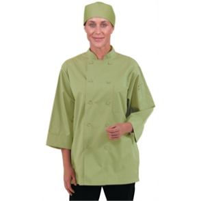 Chef Works Unisex Chefs Jacket Lime