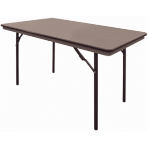 Bolero ABS Folding Banquet Rectangular Table 4 Foot