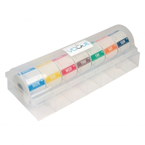 Vogue Dissolvable Day of the Week Starter Kit with 2 Dispenser