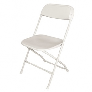 Folding Chair White (Pack of 10)