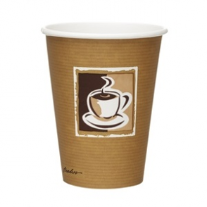 Bistro Single Wall Hot Cups 12oz (Box 1260)