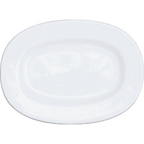 Churchill Alchemy Rimmed Oval Dishes 202mm (Box 12)