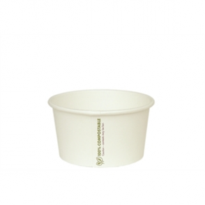 Vegware Compostable Soup/ Ice Cream Container 16oz (Box 500)