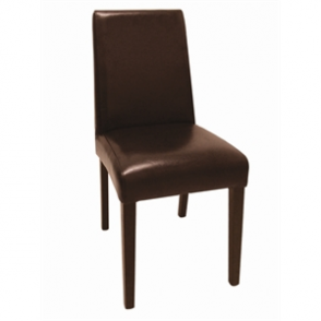 Bolero Faux Leather Dining Chair (Pack of 2)