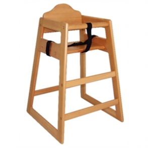 Bolero Wooden Highchair Natural