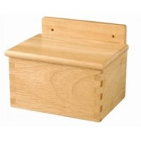 Vogue Wooden Salt Box