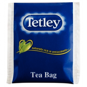 Tetley Envelope Black Tea Envelopes (Box 250)