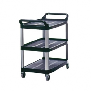 Rubbermaid X-tra Utility Trolley Black