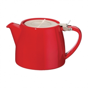 Forlife Stump Teapot Red 18oz