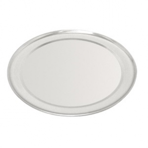 Vogue Aluminium Pizza Tray Wide Rim 10in
