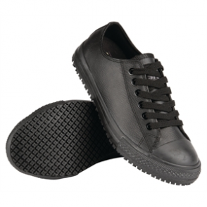 Shoes For Crews Ladies Old School Leather Trainer