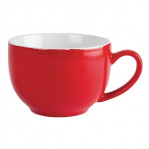 Olympia Café Cappuccino Cups Red 340ml 12oz (12pp)