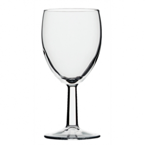 Saxon Wine Goblets 260ml CE Marked at 175ml (48pc)