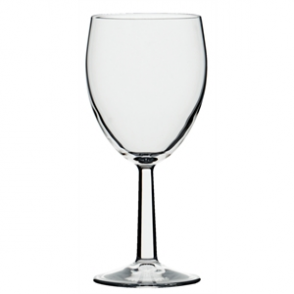 Saxon Wine Goblets 340ml CE Marked at 250ml (48pc)