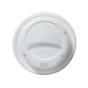 Barrier Hot Cup Domed Lids White 8/9/10oz (box 1000)